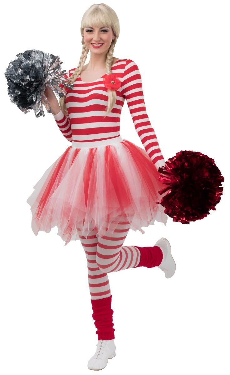 Damen Kostüm Pailletten Weste rot Karneval Fasching Orl