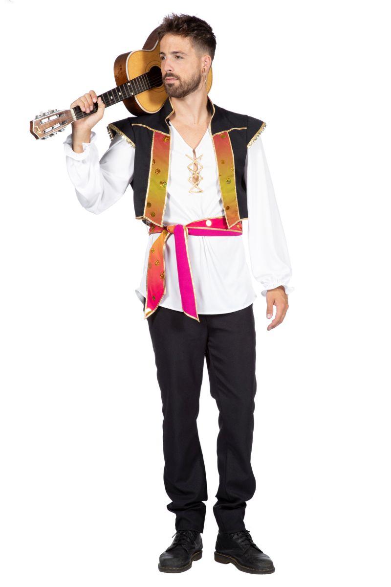 Herren Kostüm Zigeuner Verkleidung Karneval Fasching WIL